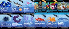 All books Learn IOS by Ray Wenderlich Swift 4 And IOS 11