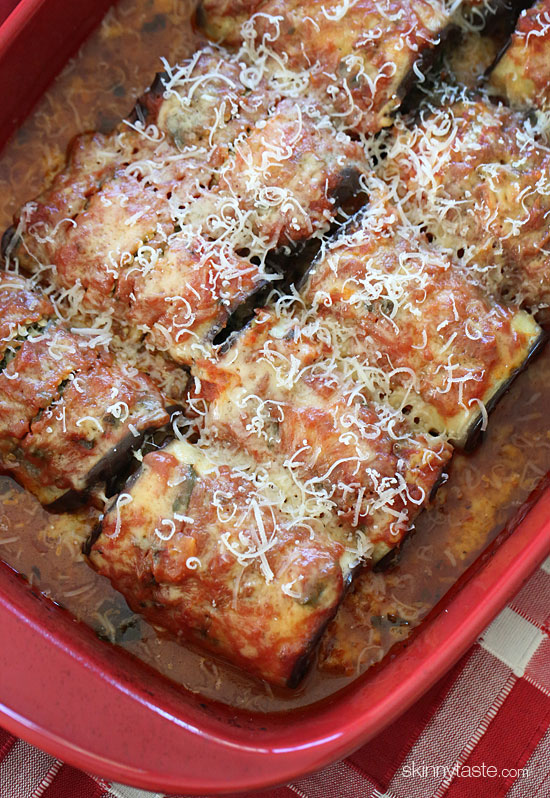 Low Fat Cheesy Spinach And Eggplant Lasagna Recipes — Dishmaps