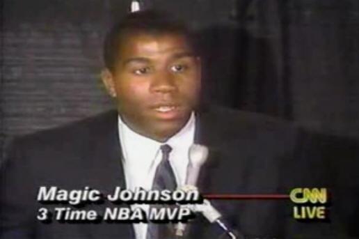magic johnson aids announcement - photo #3