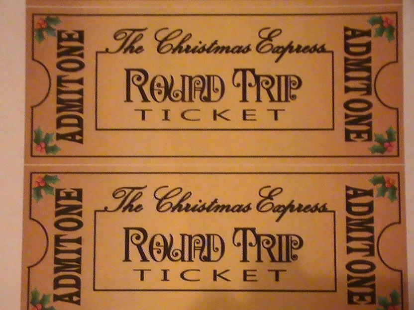 Polar Express Ticket Printable Day 73: polar express tickets