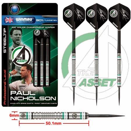 "Paul ""The Asset"" Nicholson darts"