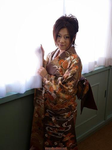 Naked brunnette - Japanese Girls in Kimono 1 - ( 10 pics )