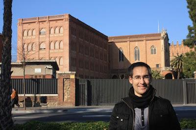 Col·legi de les Teresianes in Barcelona