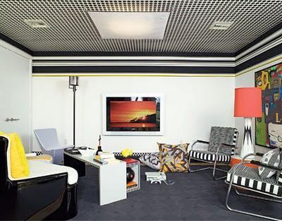 M nica dise os techos decorados for Techos de recamaras