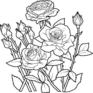 kids coloring pages, flower coloring pages