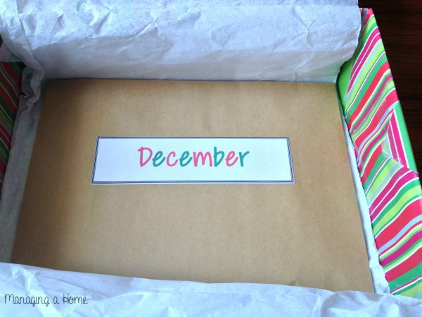 How to plan a Year of Dates. Monthly envelope example. | Managing a Home