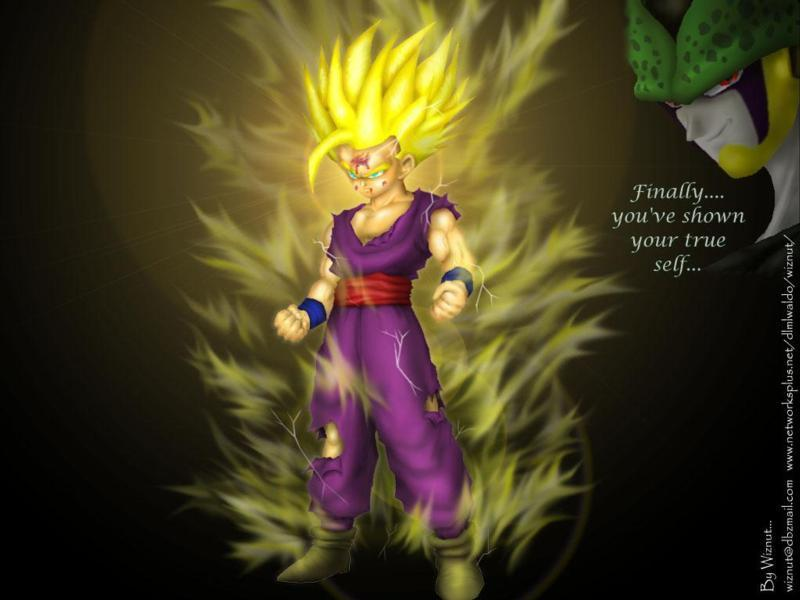 Dragon Ball Z Gohan Super Saiyan