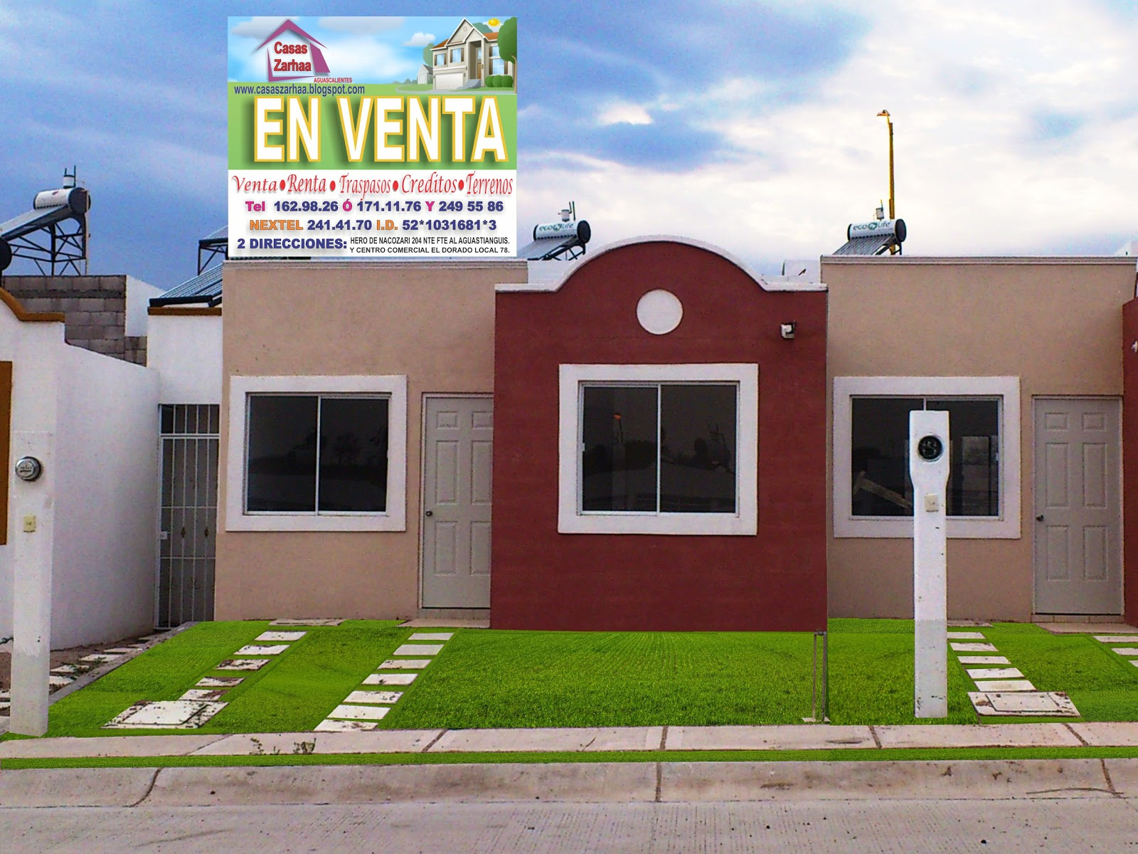 Casas muy bonitas rivera las casas en aguascalientes for Jardin villa bonita culiacan