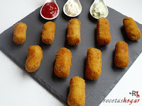 Croquetas de tortilla - croquetas listas para comer