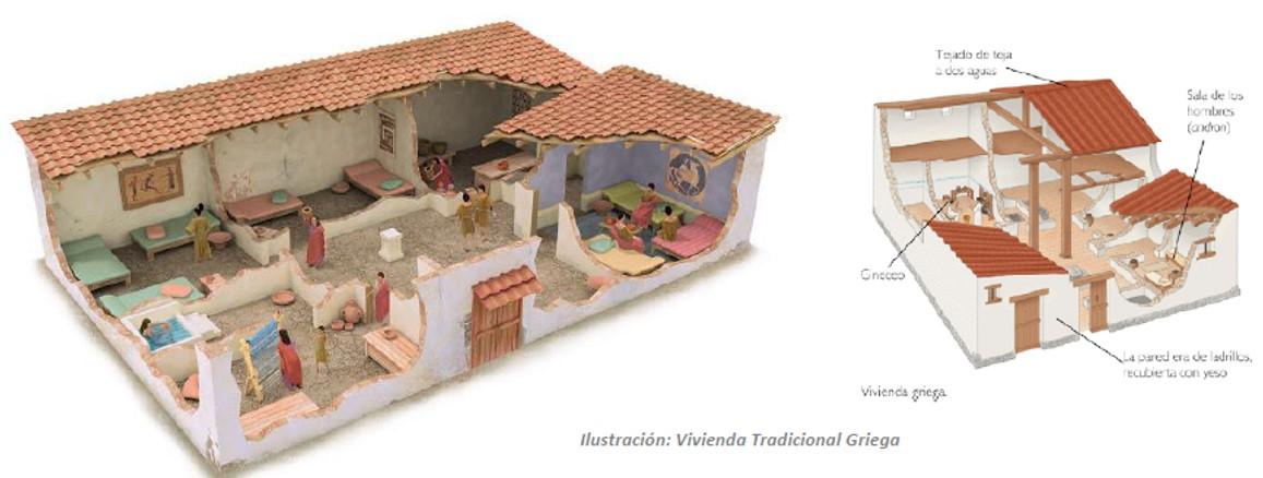 edad antigua grecia historia del mueble On vivienda griega antigua