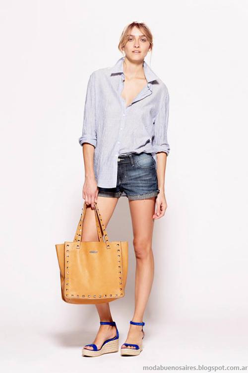 Básicos de Moda verano 2014. Camisas de mujer.