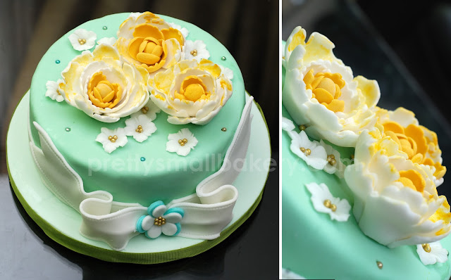 kek pengantin yang unik