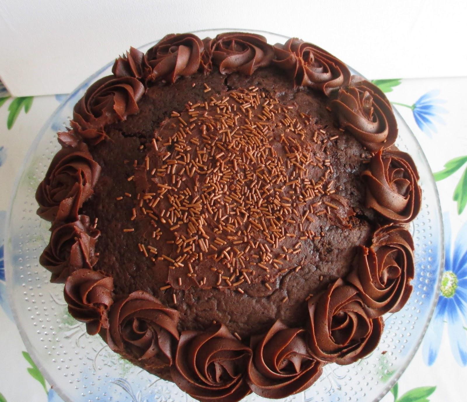 My Cupcake Habit A Yummy Pretty Chocolate Cake