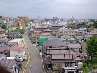 写真:屋上から仙台市街方面への眺め