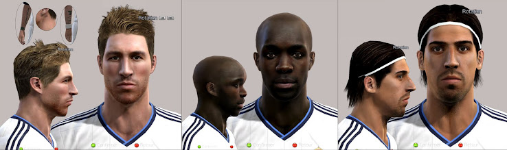 PES 2012 Facepack by Tunizizou
