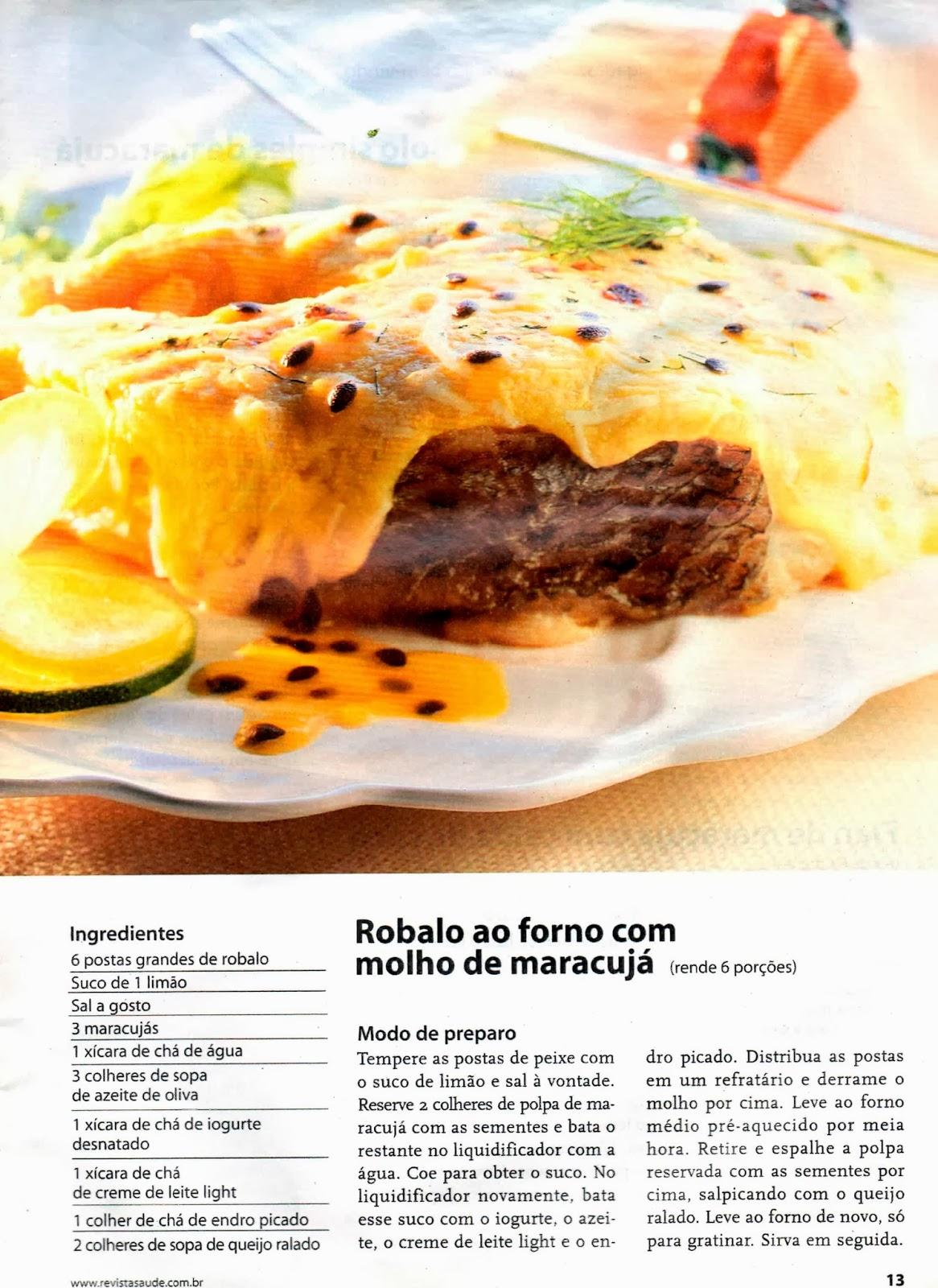 #C49C07 RECEITA CULINÁRIA DE ROBALO COM MOLHO DE MARACUJÁ 1166x1600 px Programa Cozinha Brasil Receitas_3936 Imagens