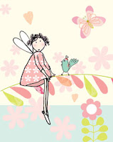 fairy notebooks children paper books stationery Liz and Pip Ltd