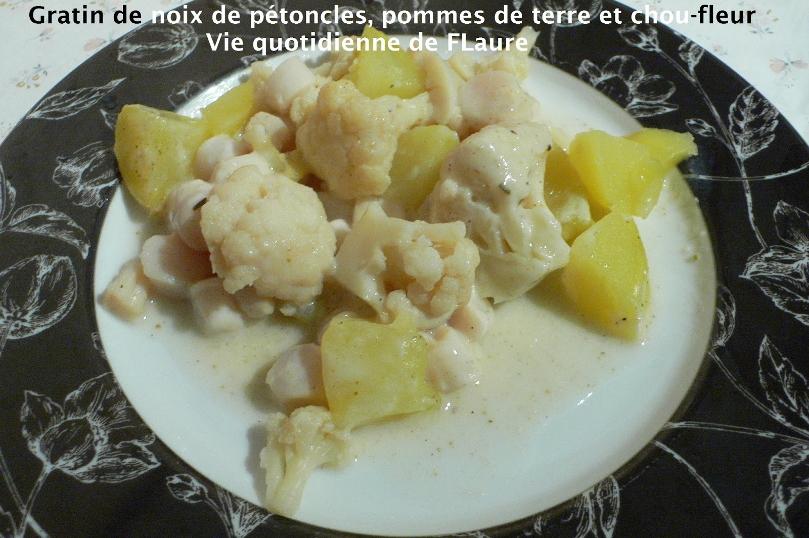 gratin de noix de p toncles pommes de terre et chou fleur blogs de cuisine. Black Bedroom Furniture Sets. Home Design Ideas