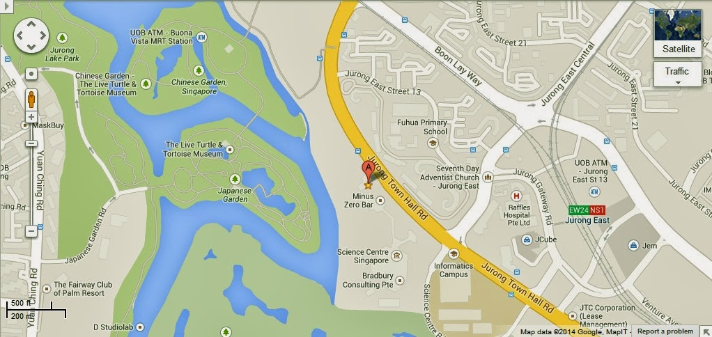 Detail Snow City Singapore Location Map – Tourist Map Of Singapore City