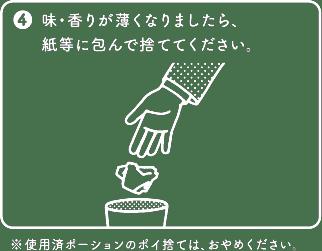ZERO STYLE SNUS Regular / Mint ( ゼロスタイル スヌース レギュラー / ミント )の吸い方4