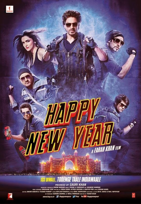 Sonu Sood - Happy New Year 2014 Film HNY Poster Out - Iss Diwali Todenge Taale India Waale