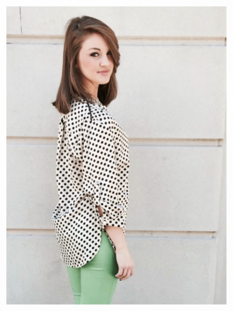 Polka Dots and Skinnies | Sassy Shortcake Boutique | Blog.sassyshortcake.com