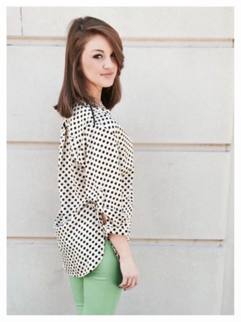 Polka Dots and Skinnies | Sassy Shortcake Boutique | Blog.sassyshortcake.com
