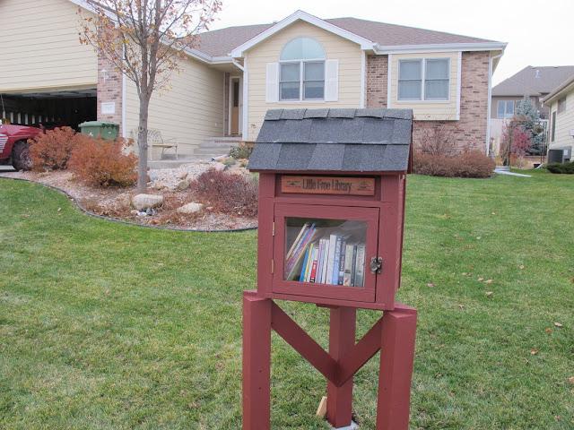 Pequena biblioteca comunitária