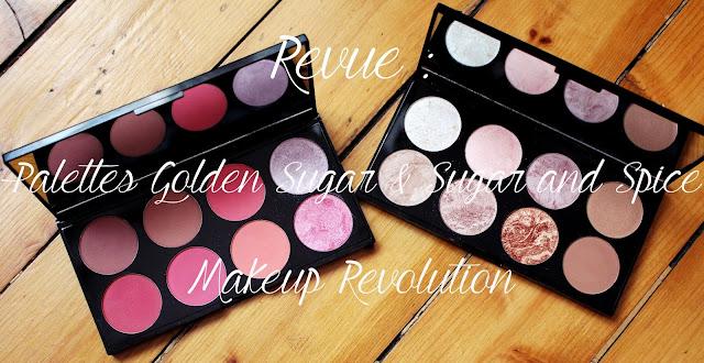 Avis palette blush makeup revolution