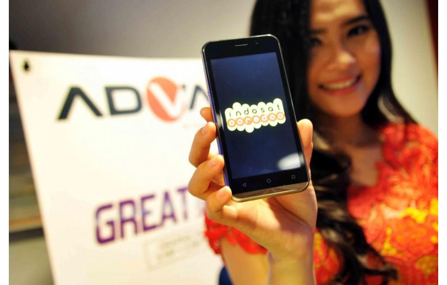 Advan Luncurkan Smartphone 4G LTE Bersama Indosat Ooredoo