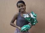 Camila Renata-5°Ano A   Vencedora da Promoção Páscoa Premiada da Olyntho