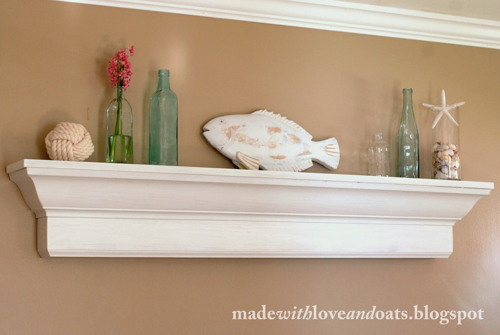 Pottery Barn Wall Shelves Made With Love And Oats Pottery Barn Knock Off Wooden Shelf