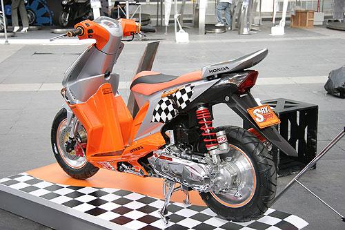 Simple Foto Modifikasi Honda Beat 2014 title=