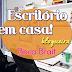 Escritório em casa! Veja dicas, decoração, fotos e vídeo do home office da blogueira Beca Brait!