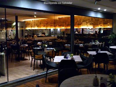 Speciali Pizza Bar: entrada para o ambiente interno