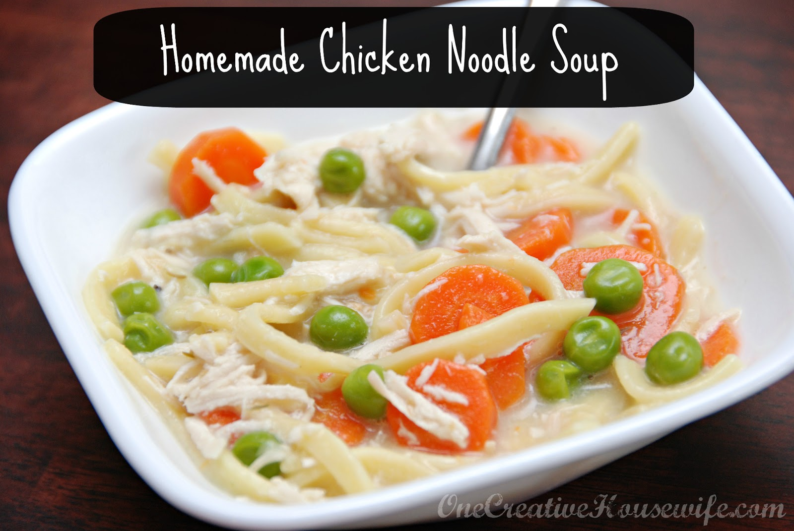 How to make homemade chicken noodle soup without broth for How to make homemade chicken noodle soup
