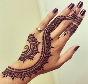 Backhand Mehndi Designs
