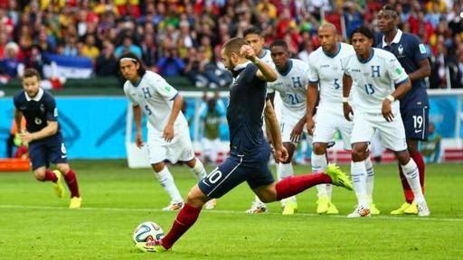 Prancis Libas Honduras 3 - 0