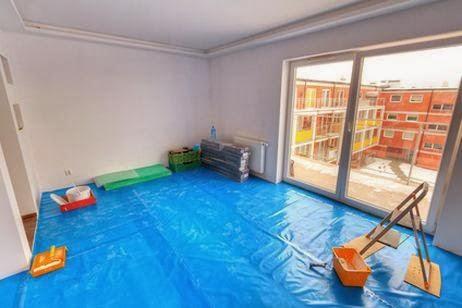 Mundo pintura del hogar alisar las paredes de un piso - Alisar paredes gotele pintura plastica ...