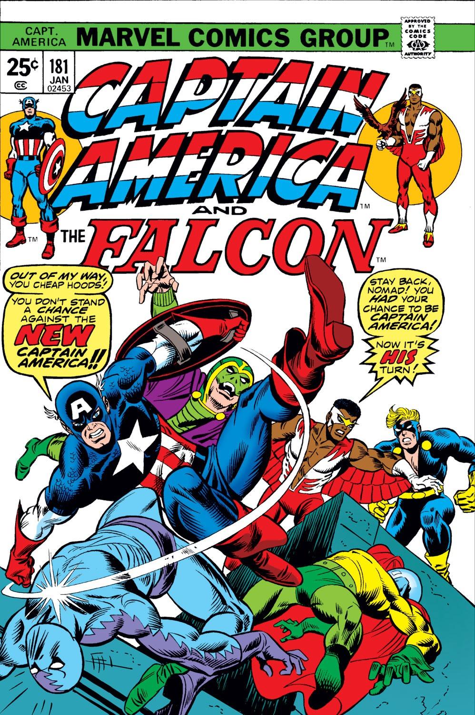 Captain America (1968) Issue #181 #95 - English 1