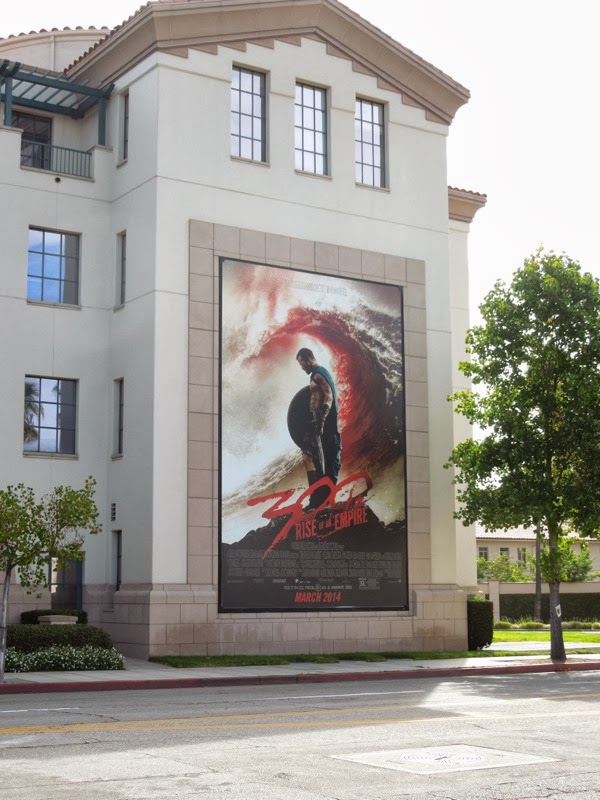 300 Rise of an Empire teaser billboard