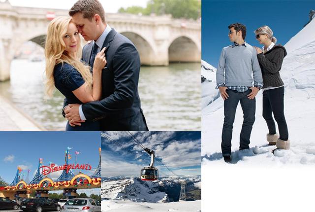 Honeymoon Packages for Paris Switzerland