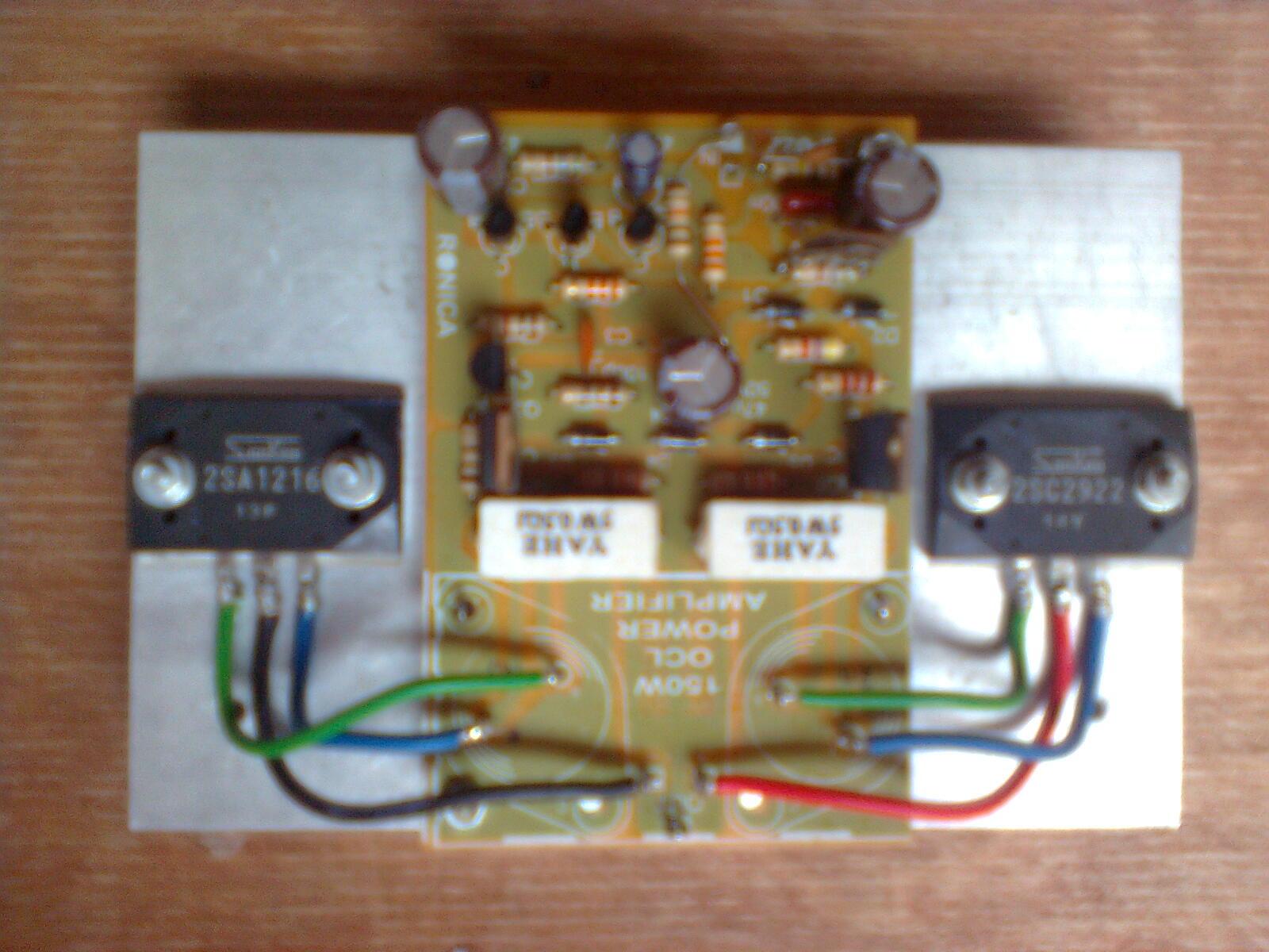 Audio Kreatif: Modifikasi Power OCL 150 Watt