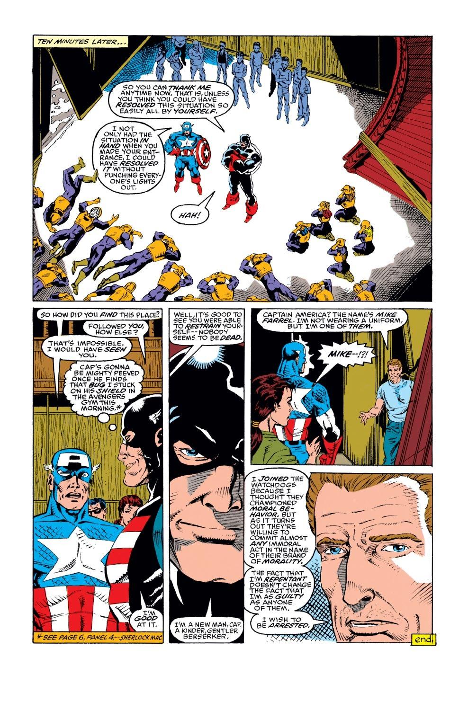 Captain America (1968) Issue #386 #319 - English 20
