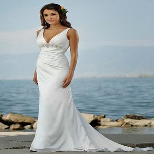 Wedding Dress Shopping For The Casual Beach Wedding Dress