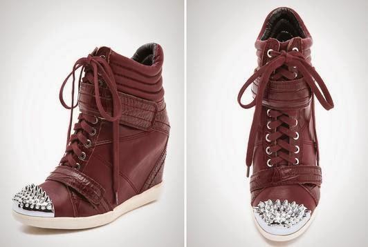 Nevan Low Wedge Sneakers