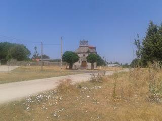 Ermita en honor al Cristo de los Afligidos, la fiesta se celebra el 14 y 15 de septiembre.