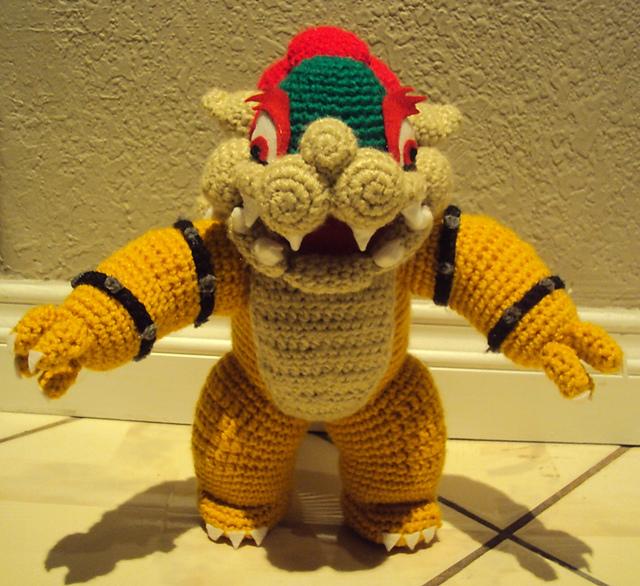 Damn it janet lets crochet bowser amigurumi bowser amigurumi dt1010fo