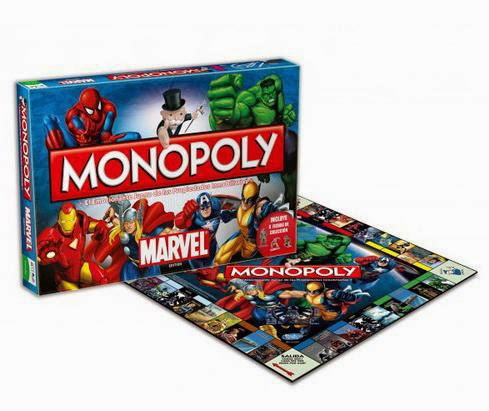 Monopoly Marvel Comics Clásico