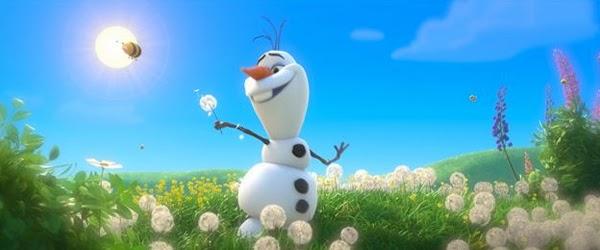 """Olaf el muñeco de nieve soñador de """"Frozen: El reino de Hielo"""""""